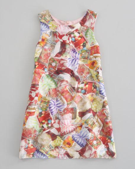 Candy Jar Print Shift Dress, Sizes 5-8