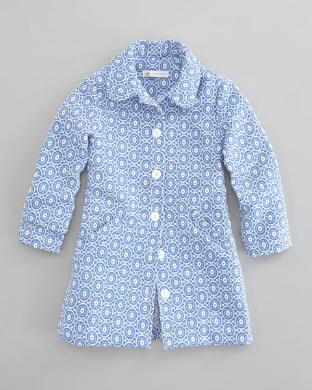 Jacquard Dress Coat, Sizes 5-8