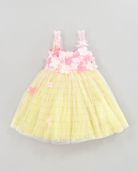 Garden Princess Tulle Dress, Size 4-6X