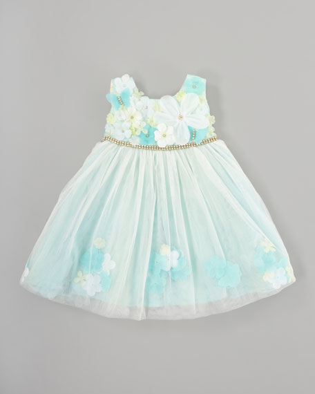 Mermaid Tulle Dress, Sizes 2-3T