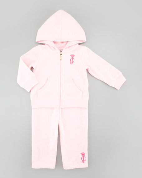 Terry Jog Suit, Rose