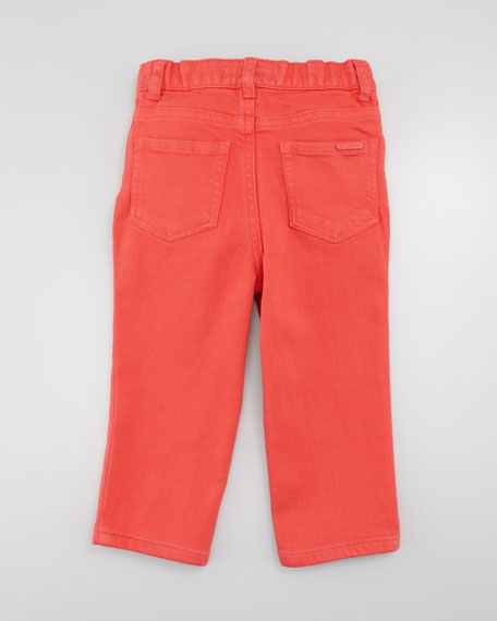 Colored Jeans, Pomegranate Pink, Kid's Sizes