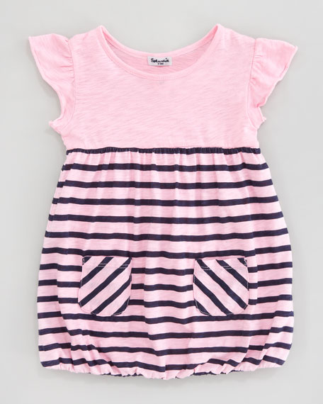 Miami Stripe Dress, Sizes 3-24 Months
