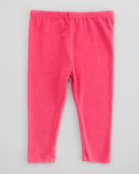 Long Leggings, Pink