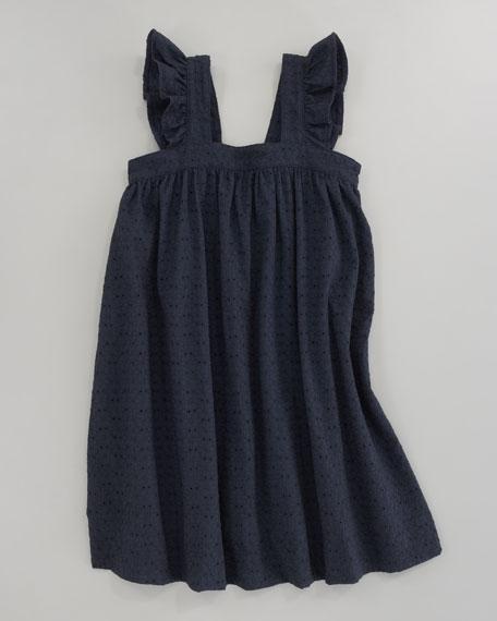 Serena Eyelet Ruffle Sun Dress