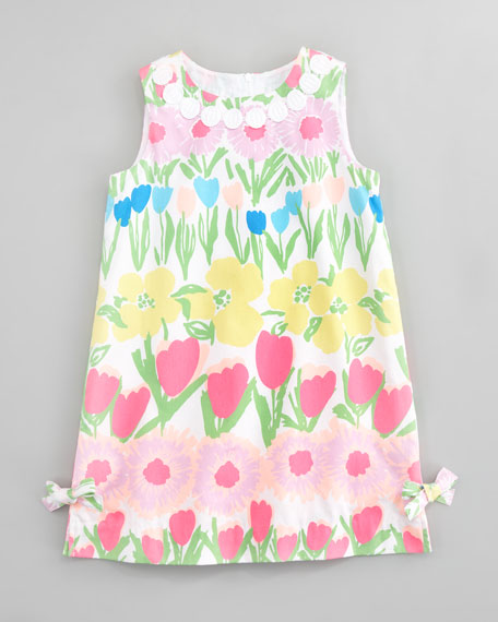 Floral Line Dance Little Lilly Shift Dress