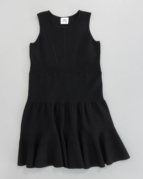 Kirsten Fit-and-Flare Knit Dress, Sizes 2-7