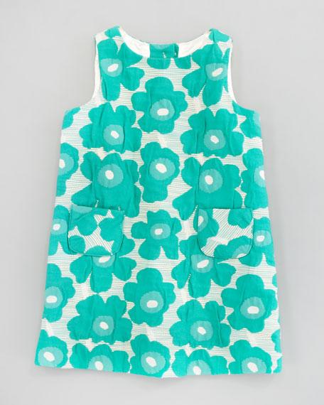 Poppy Brocade Pocket Shift Dress, Sizes 2-6