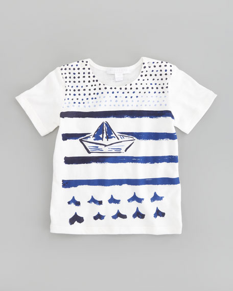 Sailboat Graphic Tee