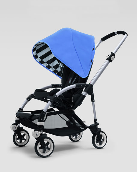 & Bugaboo Bee Sun Canopy Jewel Blue