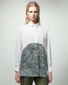 Stella McCartney Dot-Print Blouse