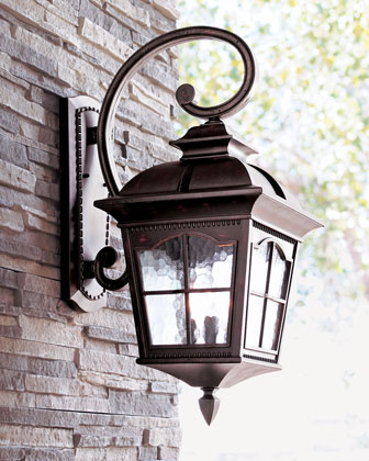 Colonial outdoor lighting for Outdoor colonial lighting