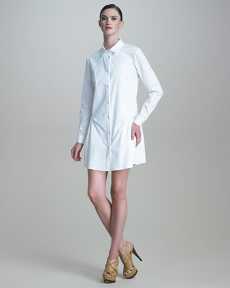 shirtdress or shirt dress