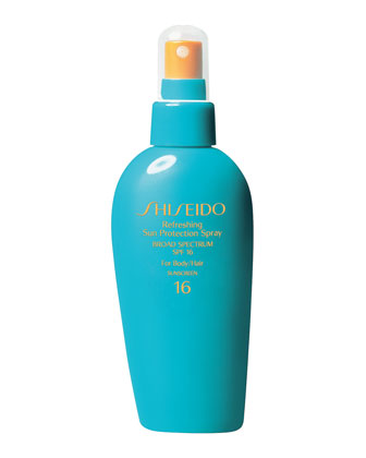 Sale alerts for Shiseido Refresh Sun Protection Spray for Hair/Body - Covvet