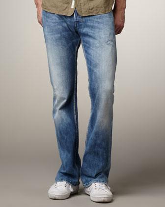 Diesel men's zathan 801z bootcut jeans