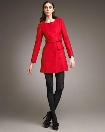 Модные пальто весна 2014 1