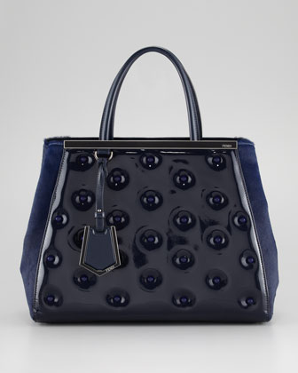 fendi 2jourkind patent leather bag