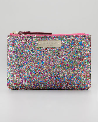 glitterball coin purse bag