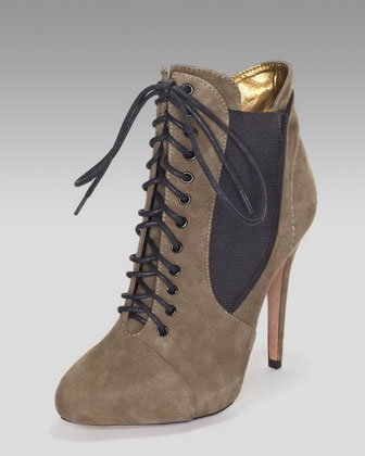 4b7307b0bacb Sam Edelman Rowin Lace Up Bootie on PopScreen