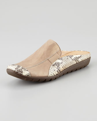 Jodi Metallic Slip-on Mule