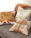 Antonio Aguilar Home Gold & Orange Pillow Collection