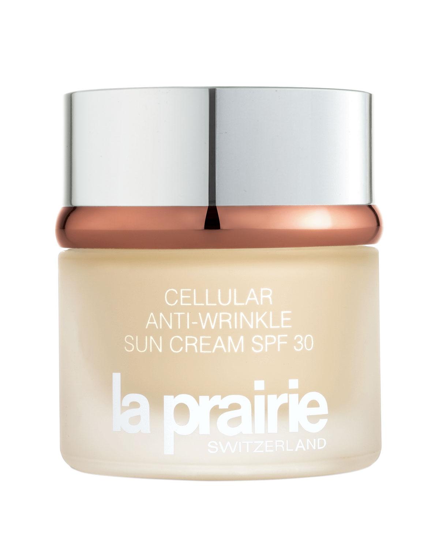 La Prairie  Cellular Anti-Wrinkle SPF 30 1.7-ounce Sun Cream Toms of Maine - Organic Moisturizing Natural Lip Balm Pomegranate - 0.15 oz. (pack of 12)