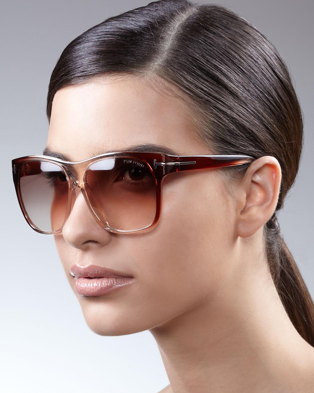 0806802c53f Tom Ford Nikita Cat Eye Sunglasses on PopScreen