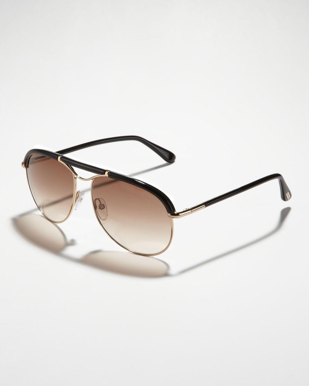 b64196c8d7 N1TQ1 Tom Ford Marco Aviator Sunglasses