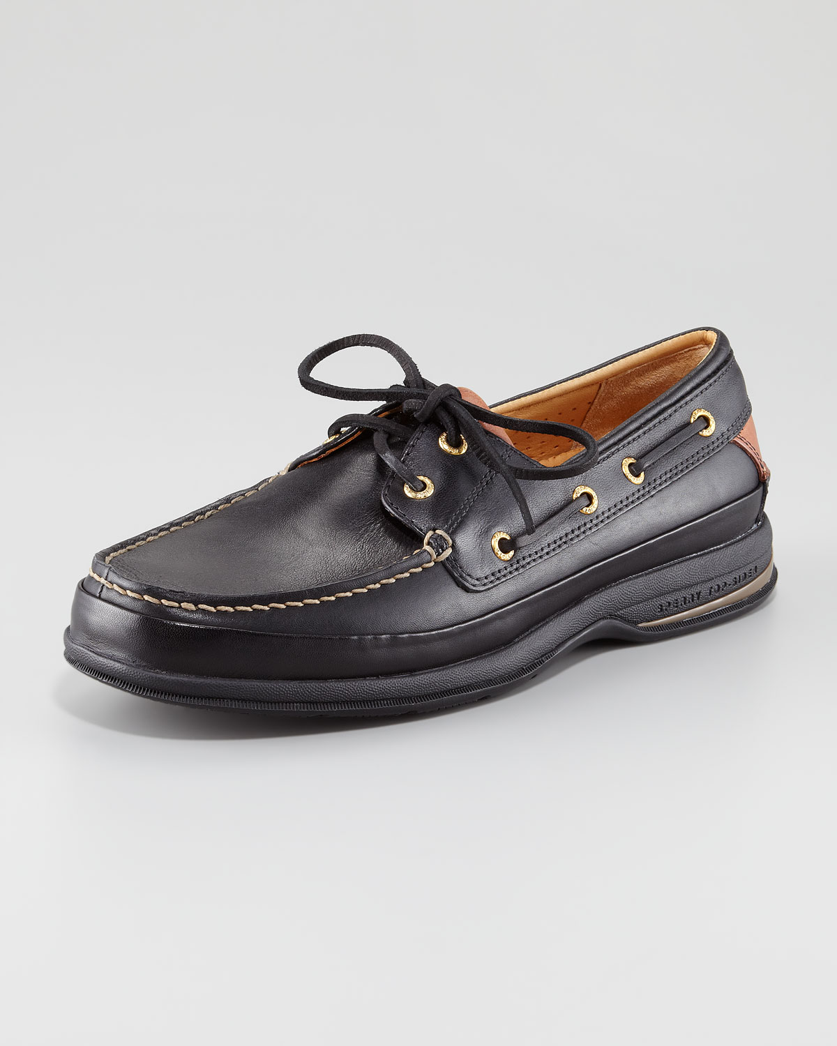 Sperry Men's Gold Cup Kennebunk ASV 1-Eye Loafer-Black |Sperry Gold