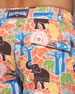 Elephant-Print Okoa Swim Trunks