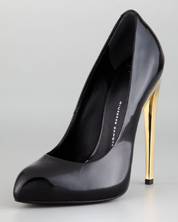 Giuseppe Zanotti Mirror Patent Leather Pump