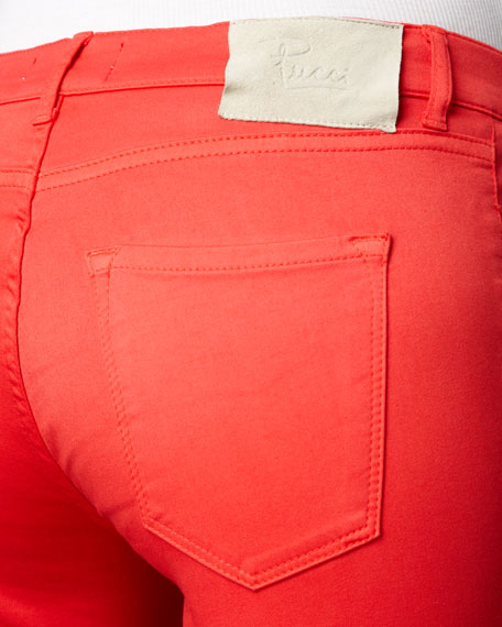 Legging Jeans, Coral
