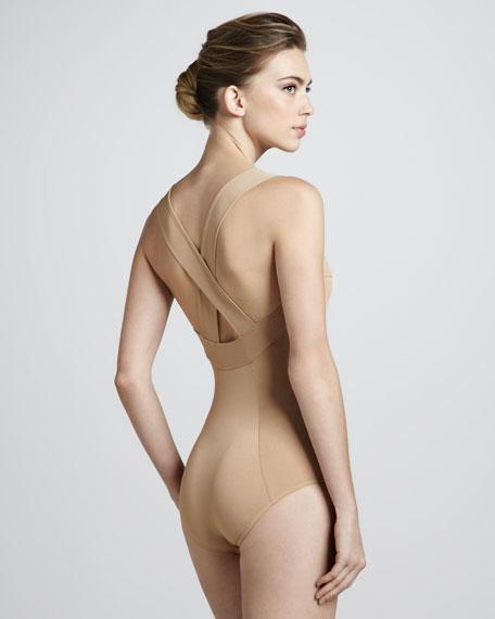 Cross-Back Bodysuit
