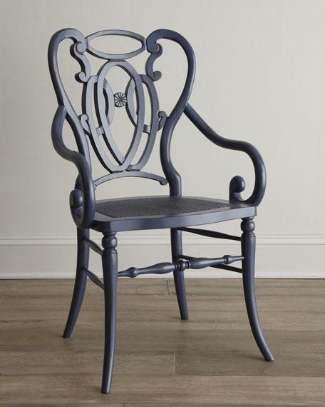 Davinia Rattan-Seat Chair