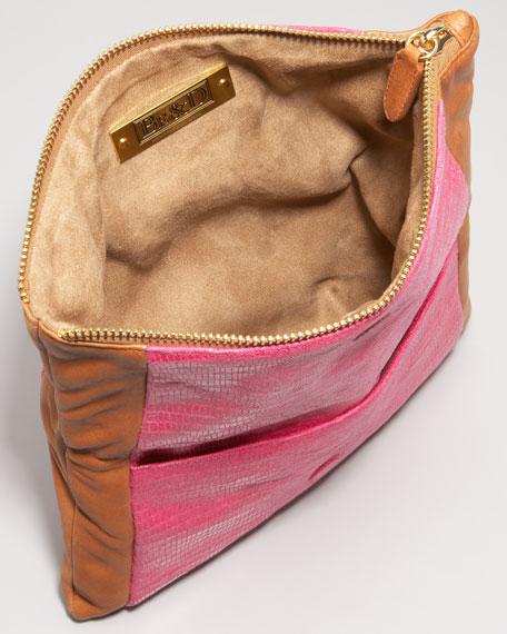 Nixie Colorblock Clutch Bag