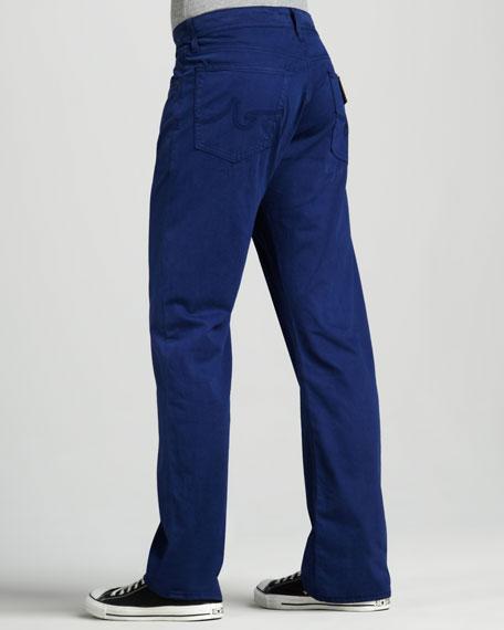 Protege Straight-Leg Deep Blue Jeans