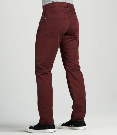 The Straight Cabernet Jeans