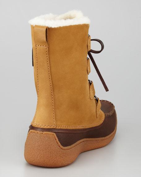 Chugalug Fur-Lined Boot, Brown