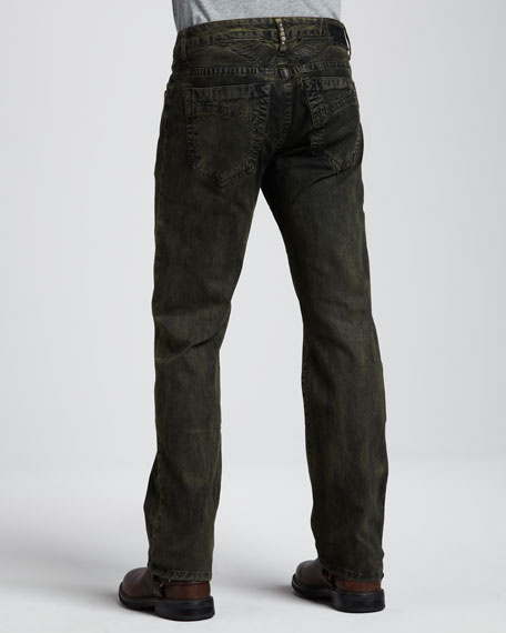 Marlon Coated Jeans