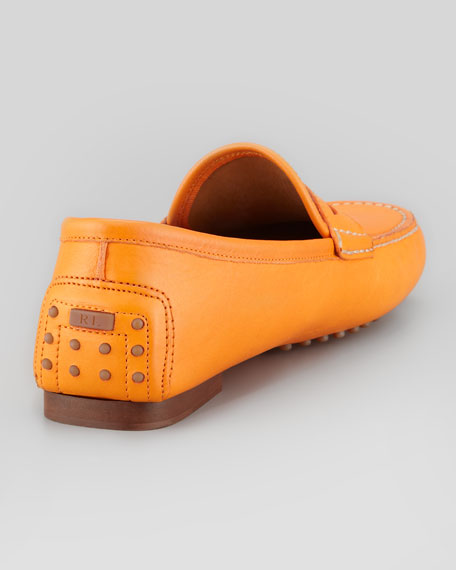 Vachetta Penny Loafer, Orange
