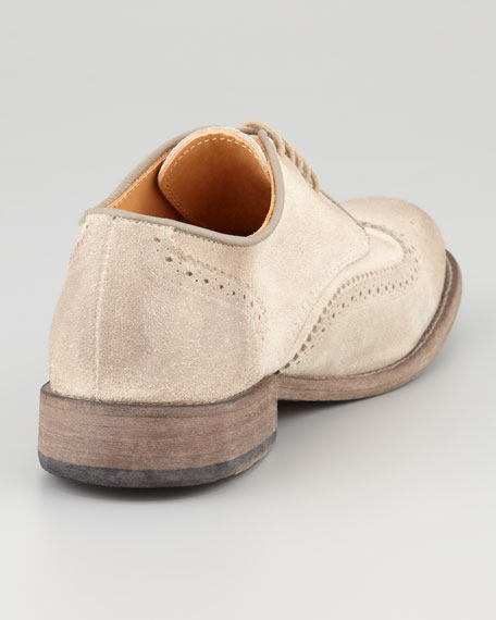 Vintage Warren Wing-Tip, Clay