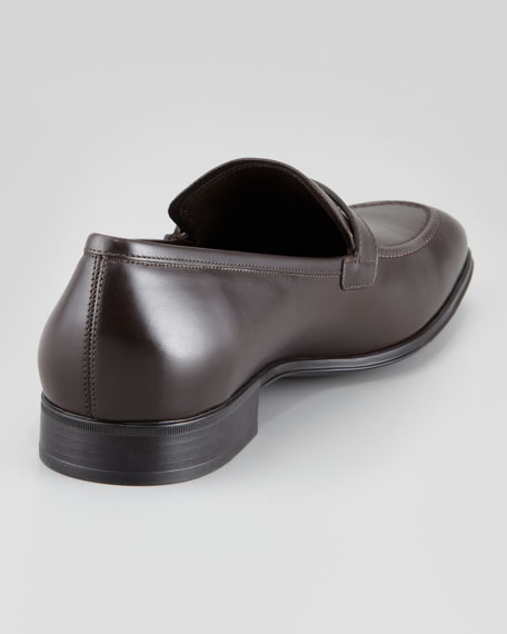Francisco Leather Moccasin