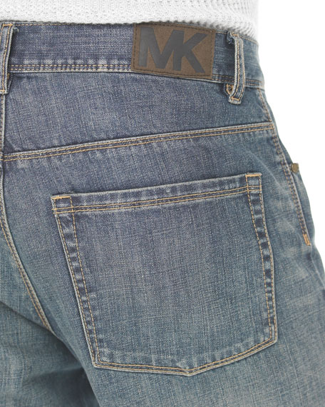 Classic-Fit Denim Jeans