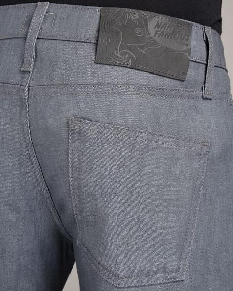 SkinnyGuy Gray Stretch Jeans