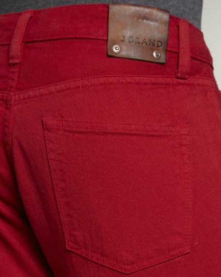 Kane Buoy Red Jeans