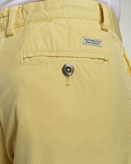 Bellmont Slim Pants, Yellow