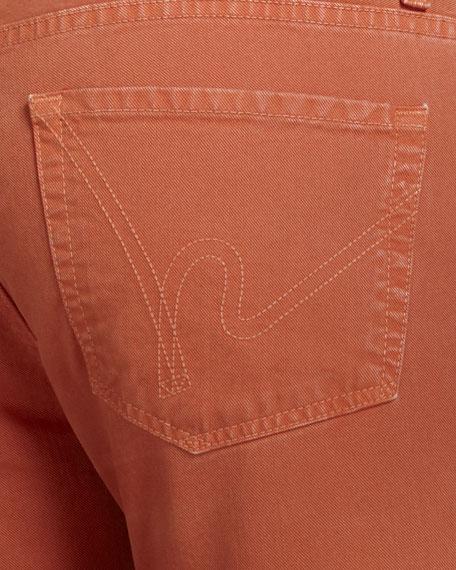 Sid Fire Orange Jeans