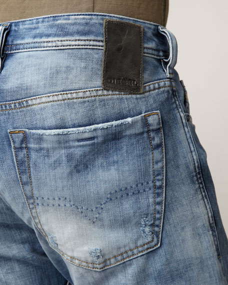 Zatiny Boot-Cut Eyecons Jeans
