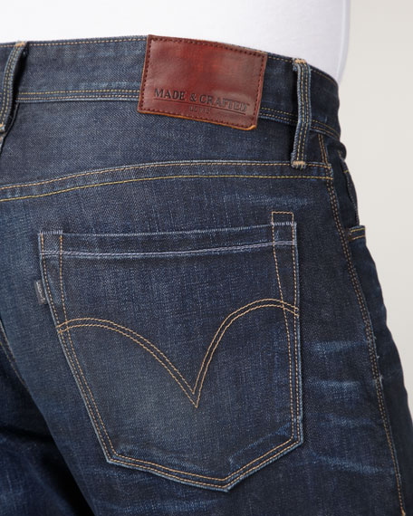 Ruler Omaha Straight-Leg Jeans