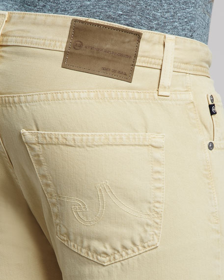 Matchbox Sulfur Mellow Yellow Jeans